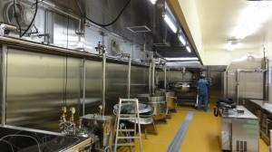 昆布の煮炊き・調理装置  搬入~設置工事