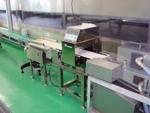 金属検出機+リジェクター2セット